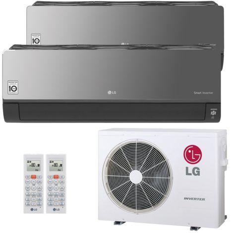 LG Artcool Energy Multisplit Wandgerät 2 x 3,5 kW Duo Set EEK: A++ / A+
