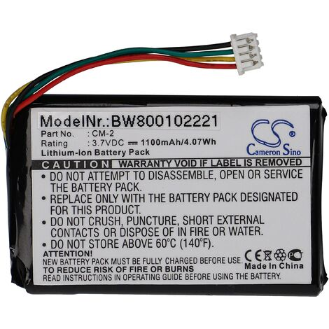 LI-ION BATTERY (1100mAh) suitable for PACKARD BELL Compasseo 500, 820 replacing CM-2