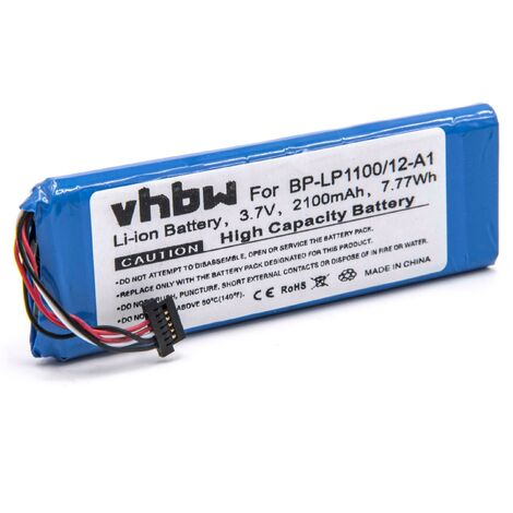 Li-Ion battery 2100mAh (3.7V) suitable for Becker BE7928 and Traffic Assist 7928. Replaces battery-type: BP-LP1100/12-A1.