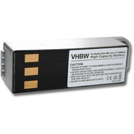 Li-Ion Battery 2200mAh (3.7V) suitable for Garmin Zumo 400, 450, 500, 550.
