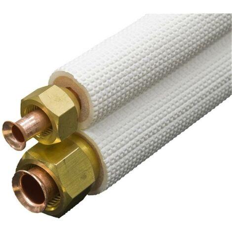 Liaison FLARE standard isolée - Diamètre : 1/4 - 1/2 - Longueur : 5 ml