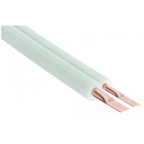 LIAISON FRIGORIFIQUE - PE bi-tubes M1 - Pour R407C et R410A - Longueur 7m