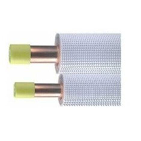Liaisons frigorifiques pré-isolées - Bi-tube 1/4 - 5/8 - M1 - 20ml