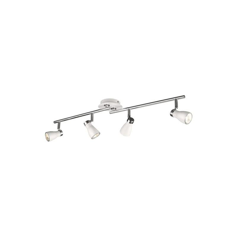 Massive - Liatris Liatris - Barra spot 4 luci in alluminio bianco