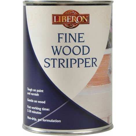 "main image of ""Liberon 002511 Fine Wood Stripper 500ml"""