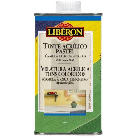 LIBERON 003127 - Tinte acrilico para teñido de madera color blanco 250 ml
