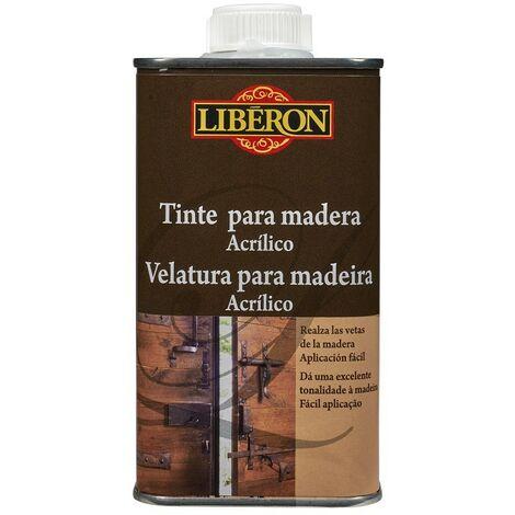 LIBERON 047372 - Tinte acrilico para teñido de madera color nogal 250 ml