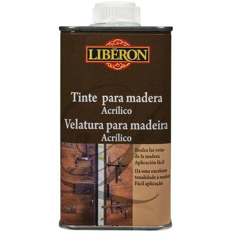 LIBERON 047373 - Tinte acrilico para teñido de madera color wengue 250 ml