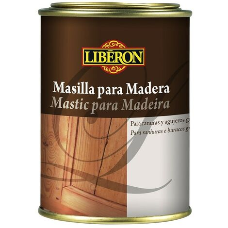 LIBERON 104541 - mastic pour remplissage couleur chêne eau claire en bois 200 ml