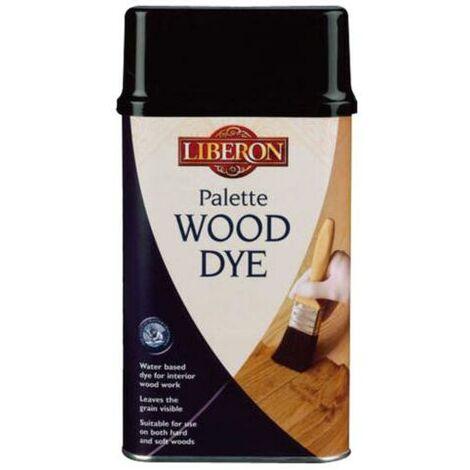 Liberon 500ml Dark Oak Palette Wood Dye Water Based Acrylic
