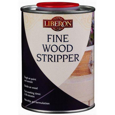 Liberon Fine Paint and Varnish Wood Stripper Gel - 500ml