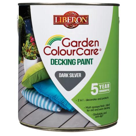 Liberon Garden Colour Care Decking Paint - All Colours