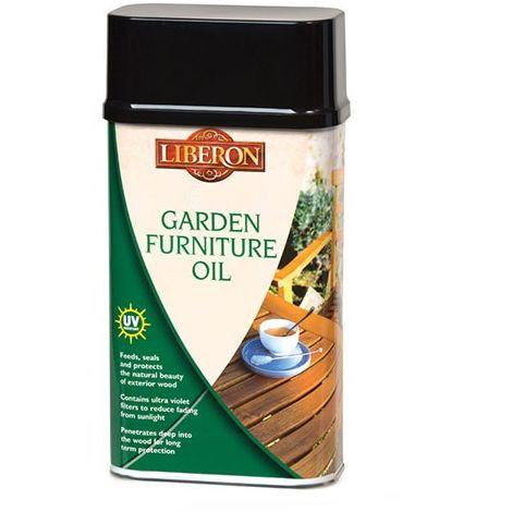 Liberon Garden Furniture Oil - All Sizes - Clear and Teak