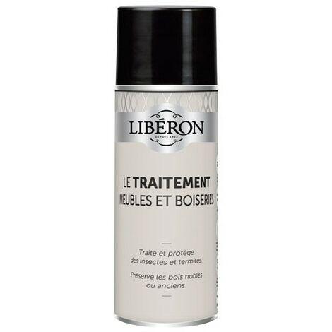 LIBERON - Insecticide bombe - meubles bois, boiseries - 400 mL