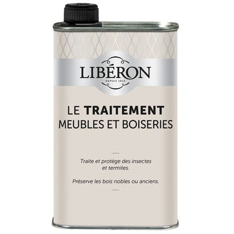 LIBERON - Insecticide liquide - meubles bois, boiseries - 500 mL