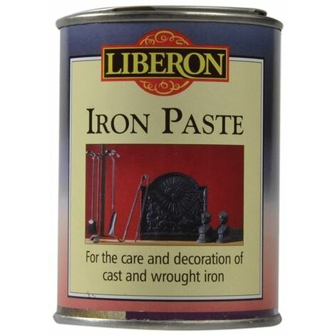 Liberon Iron Paste - Renovating Cast and Wrought Iron - 250ml and 1 Litre