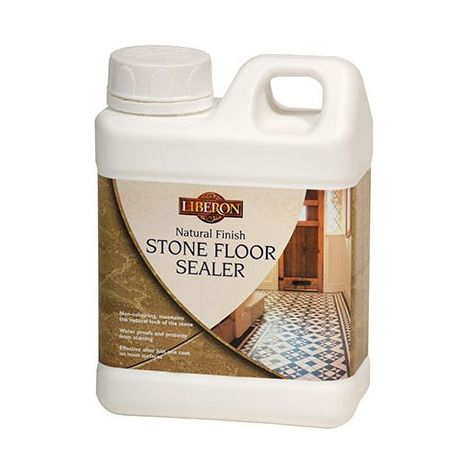 Liberon Natural Finish Stone Floor Sealer - 1 Litre