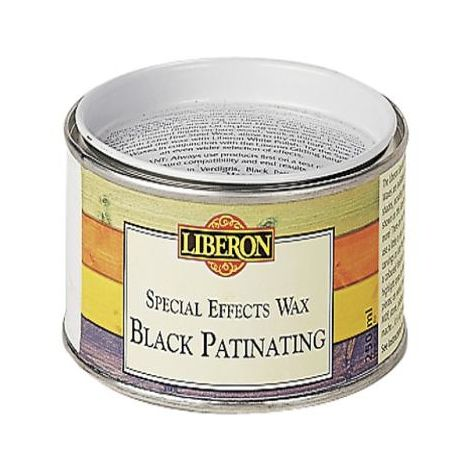 Liberon Patinating Wax Black 250ml