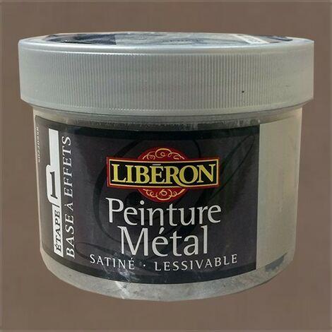 LIBÉRON Peinture Métal 0,25L Brun oxydé 0,25 L - Brun oxydé