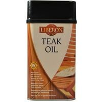 Liberon Teak Oil - With UV Filters - 250ml, 500ml, 1 Litre and 5 Litre
