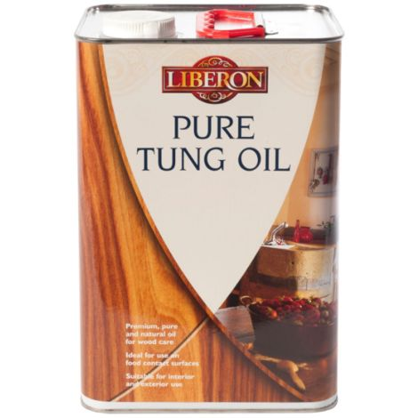 Liberon Tung Oil - Interior and Exterior Natural Wood Oil - All Sizes