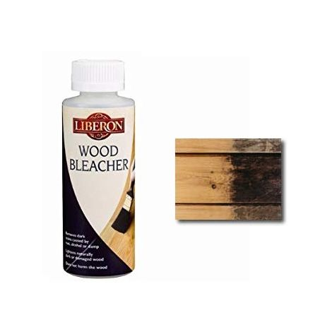 Liberon Wood Bleacher - Stain Remover - 125ml, 500ml and 5 Litre