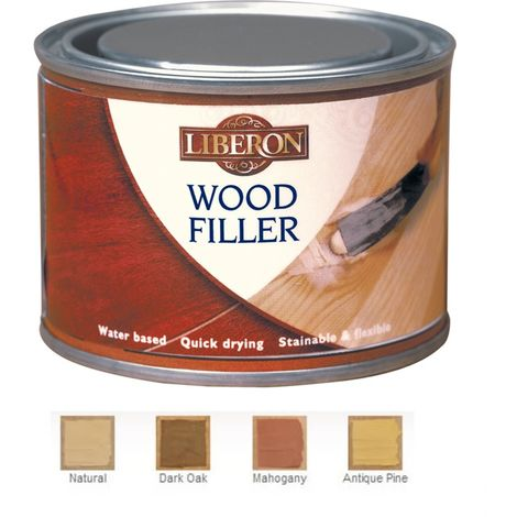 Liberon Wood Filler - High Resistance - Various Colours - 125ml