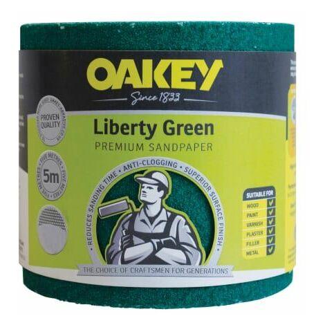 Liberty Green Aluminium Oxide Paper Rolls
