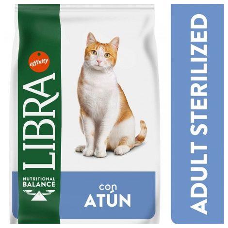 Libra Cat Sterilized Atun Saco de 1,5 Kg