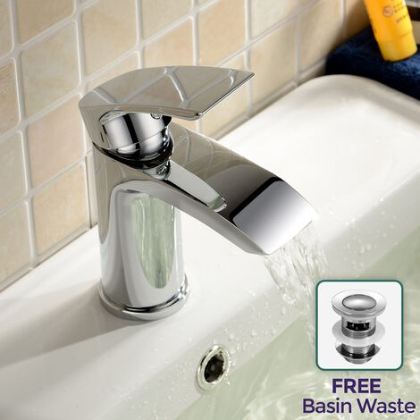 Libra Waterfall Basin Tap Mono Mixer