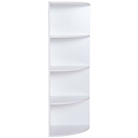 benzoni Libreria da Muro in Legno Marrone 195x102x23.5 cm