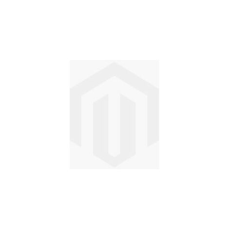 Libreria Ducky Estanteria para Libros, Mueble de Pared - con Puertas, Compartimientos - para Salon, Oficina - Blanco, Nogal en Madera, 90 x 22 x 105 cm