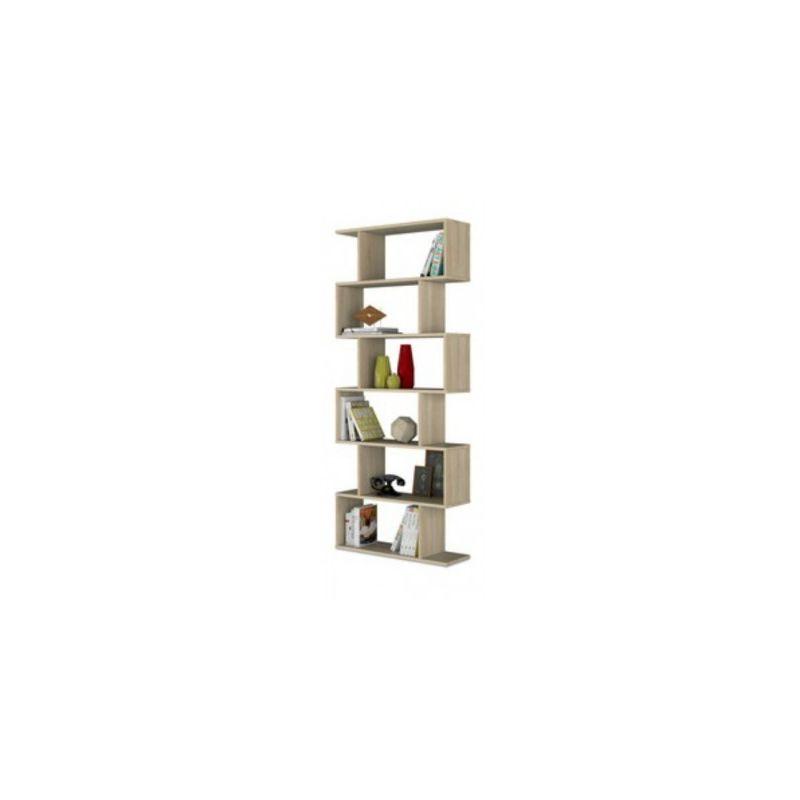 Libreria Scaffale Cm.80X25X192H Rovere - NO BRAND