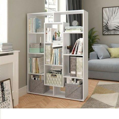 Libreria scaffale con 11 scomparti studio ufficio salotto ...