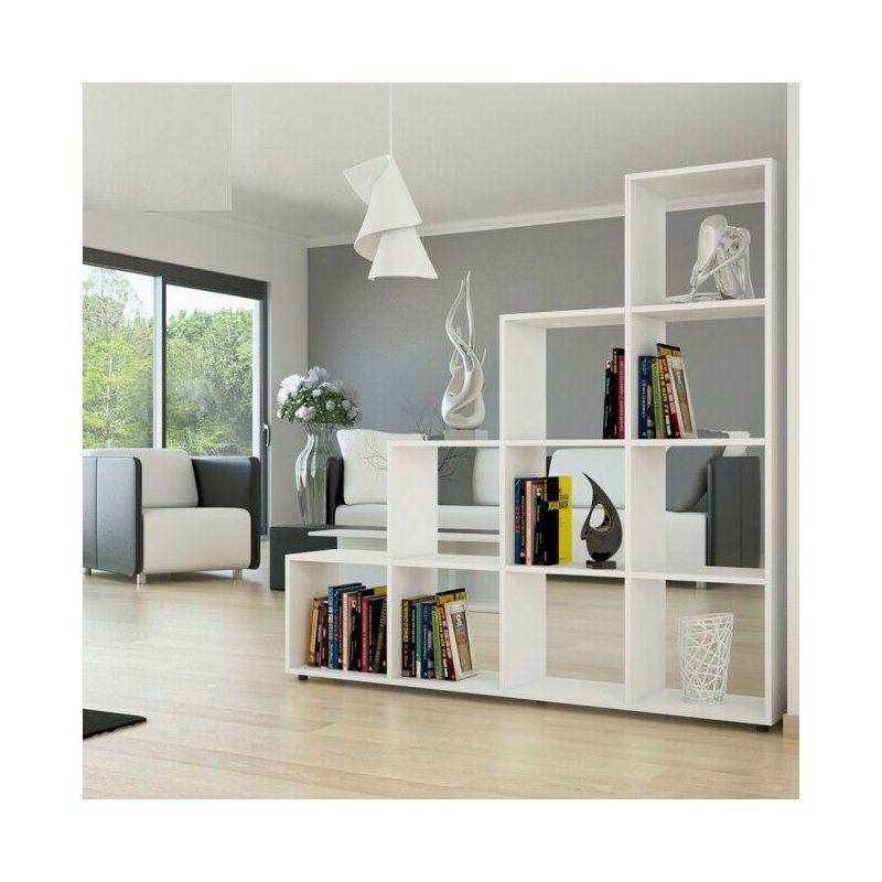 Soggiorno O Salotto.Libreria Scaffale Cubo Divisorio Parete Moderno Studio Soggiorno Salotto