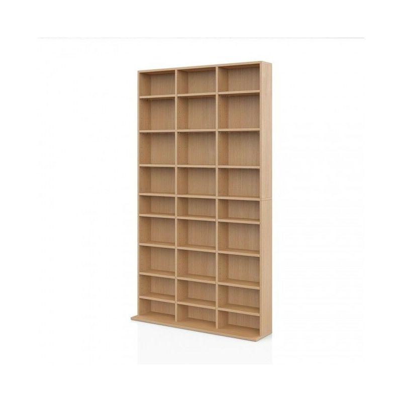 Porta Cd Dvd Metallo.Libreria Scaffale Porta Cd Dvd Design Moderno Arredo Ufficio