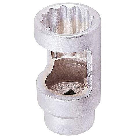 """Licota Llave Inyectores 27Mm Largo Carraca 1/2"""" De Pulgada Vaso Especial Diésel 12 Puntas - Marca Uso Profesional"""