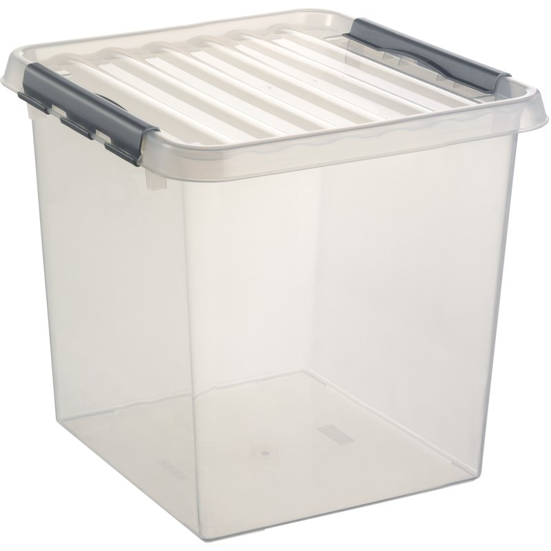 Image of Lidded Plastic Storage Box - 38 Ltr - A PLACE FOR EVERYTHING