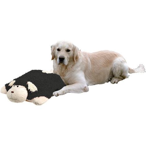 Liegekissen Dogmaxx Sleep L: 40 cm B: 40 cm H: 16 cm schwarz-weiss