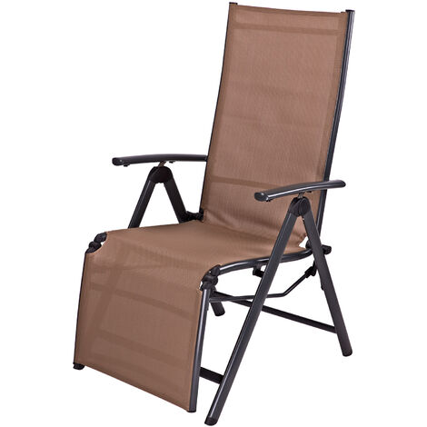 Liegestuhl Gartenstuhl Campingsessel Garten Relaxsessel Corona