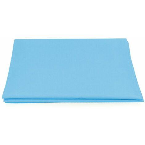 Liegestuhlbezug Blau für Bituxx Liegestuhl Sonnenliege Gartenliege Holzliege Strandliegestuhl Holz Klappbar