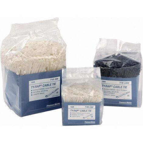 Lien de fixation avec clip de blocage inoxydable Plastique Polyamide (nylon) 6.6