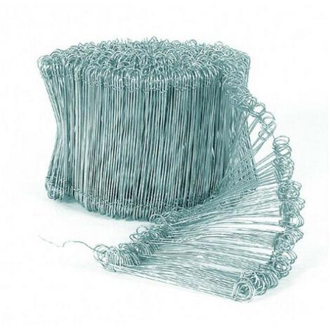 Liens à boucles galvanisés x1000 EDMA