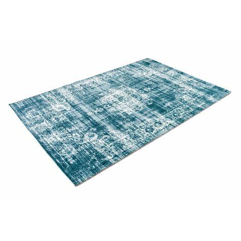 LIFA LIVING Vintage Teppich, im schönen Vintage Muster, für Wohnzimmer und Schlafzimmer, Farb und Größen Variationen