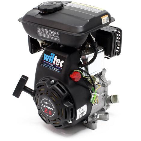 LIFAN 152 Moteur essence 1.8kW (2.45CV) 4-temps 15mm refroidi par air monocylindre avec lanceur