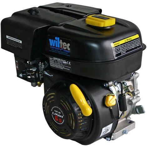 LIFAN 168 Benzinmotor 4,8 kW 6,5 PS 19,05 mm 196 ccm mit Handstarter