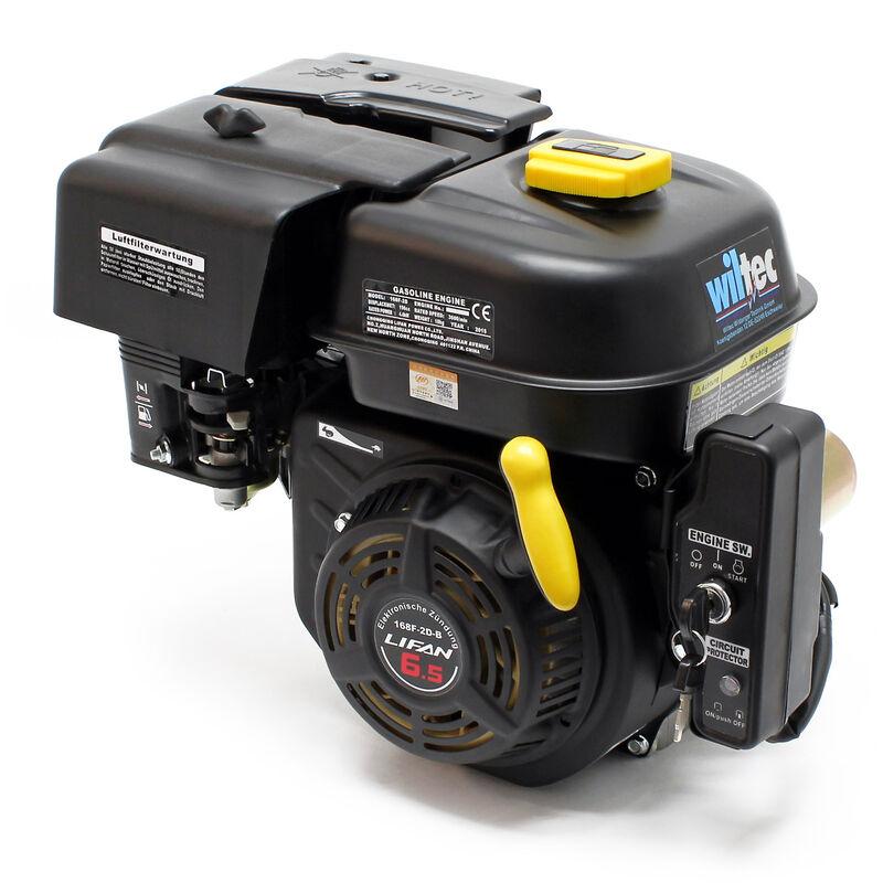 LIFAN 168 Moteur essence 4.8kW (6.5CV) 4-temps 20mm Monocylindre avec Démarreur électrique 12V