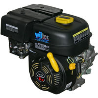 LIFAN 168 Petrol Gasoline Engine 4.5kW (6.5Hp) 196ccm with wet clutch reduction gearbox 2:1