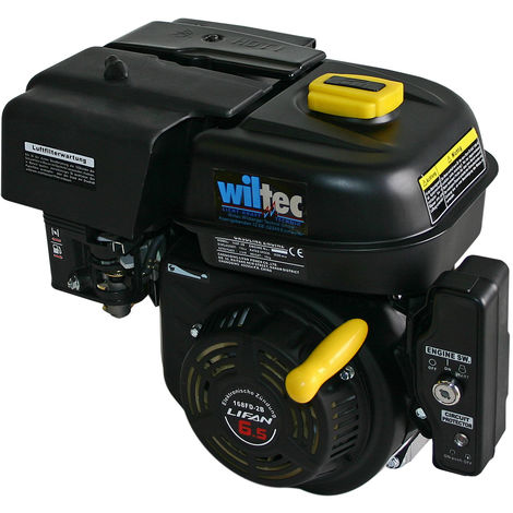 LIFAN 168 Petrol Gasoline Engine 4.8kW (6.5Hp) 0.75 inch with electric start