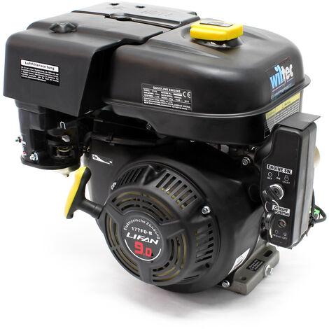 LIFAN 177 Moteur essence 6.6kW (9CV) 270ccm avec reducteur 2:1 embrayage et démarreur électrique